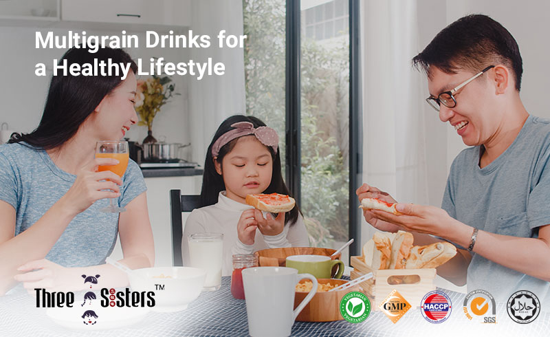 Multigrain Drinks for a Healthy Lifestyle